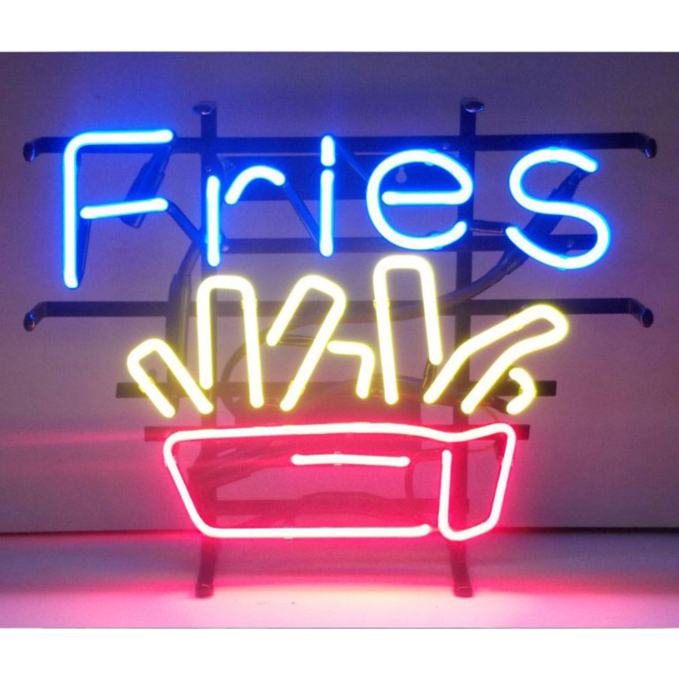 Fries Neon Sign by Neonetics in Neon Signs