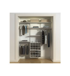 freedomRail Ladies Closet with Shoe Cubbies Image