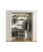 freedomRail Ladies Closet with Shoe Cubbies