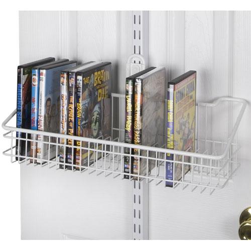 FreedomRail Over The Door DVD Rack Image