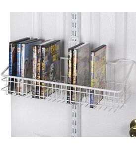 freedomRail Over the Door DVD Rack Image