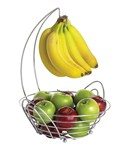 Fruit Basket with Banana Hook