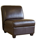 Pax Full Leather Club Chair