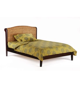 Full Rosebud Platform Bed by Night and Day Furniture Image