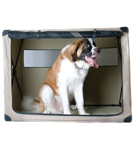 Fully Collapsible Portable Dog Kennel Image
