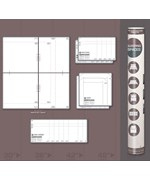 Life Size Furniture Templates - Bedroom Space