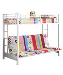 Futon Bunk Bed - Metal by Walker Edison