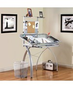 Futura Drafting Table with Tower by Studio Designs