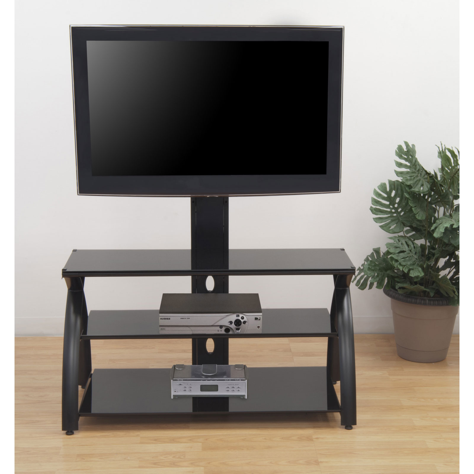 Futura TV Stand With Tower By Studio Designs In TV Stands
