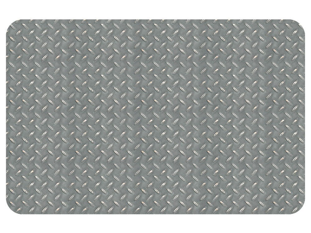 Garage Mat Diamond Steel Pattern In Garage Floor Protection