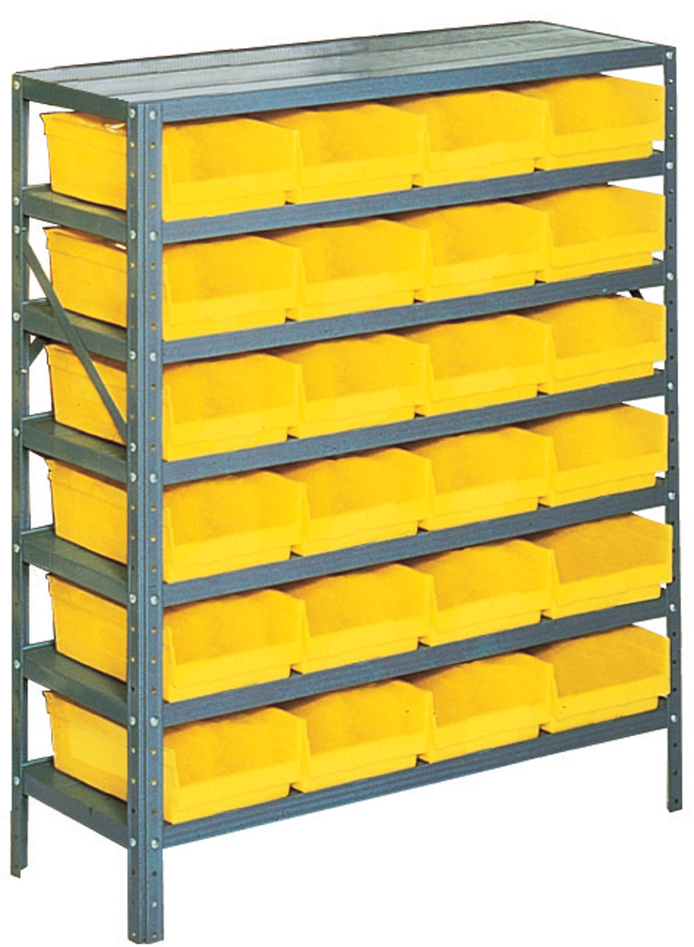 Garage organizer small bin storage rack in plastic storage for Best storage bins for garage