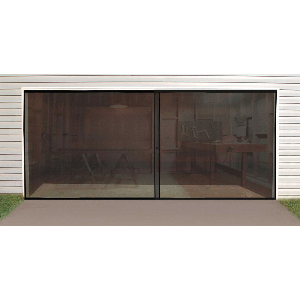 16 foot screen door for garage in garage accessories for 10 feet wide garage door