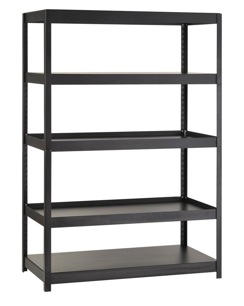 garage shelving unit boltless in heavy duty storage shelving. Black Bedroom Furniture Sets. Home Design Ideas