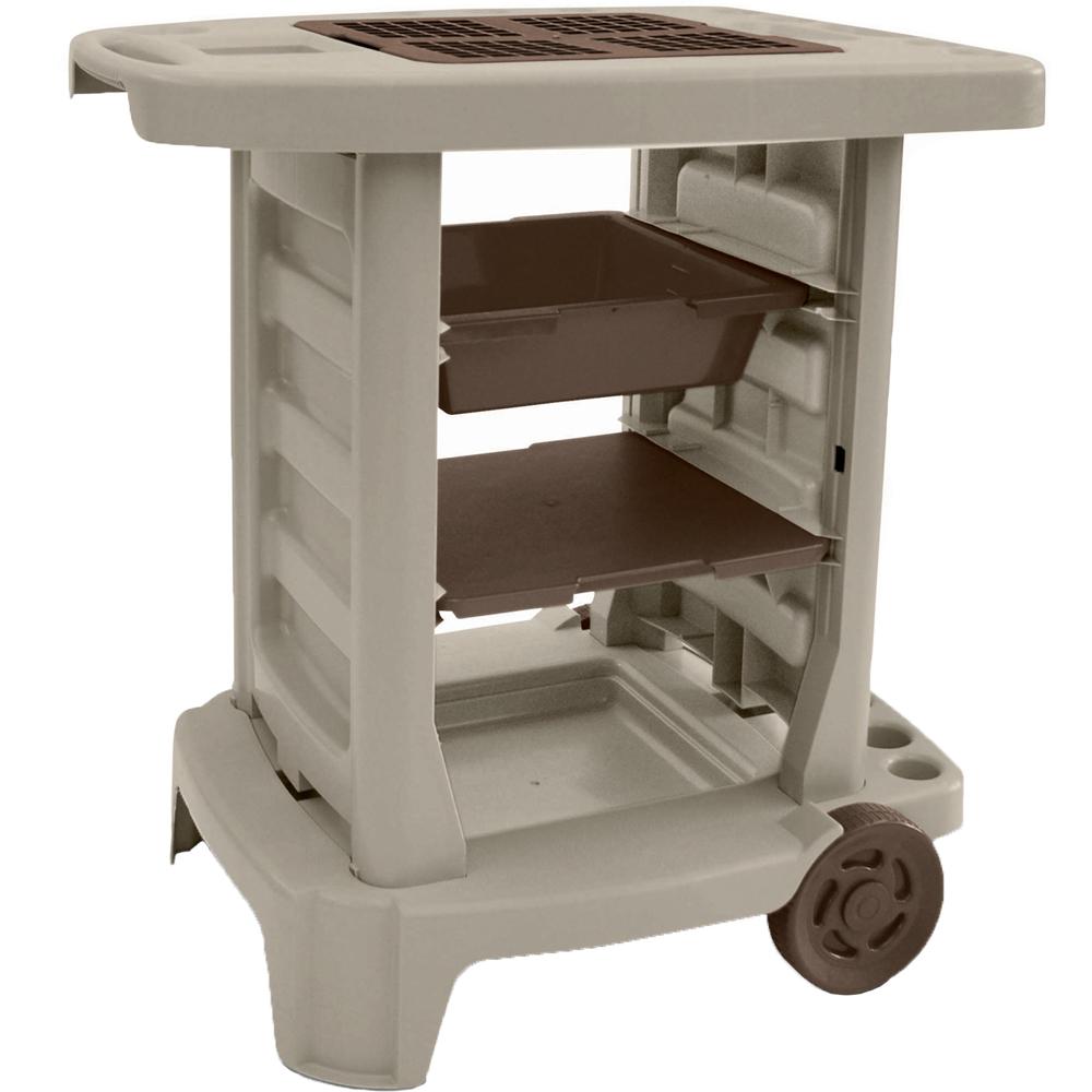 Garden Tool Storage Cart Image