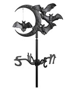 Garden Weathervane - Halloween Bat