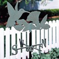 Garden Weathervane - Hummingbird