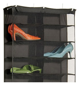 Over the Door 26-Pocket Shoe Rack Image