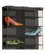 Over the Door 26-Pocket Shoe Rack