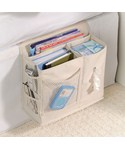 Bedside Storage Caddy - Natural Denier