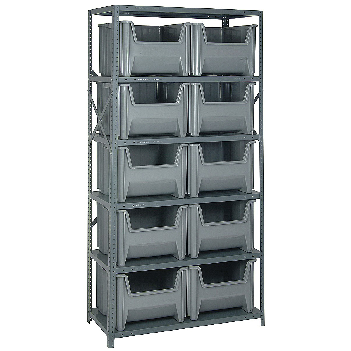 Industrial Storage Shelf   10 Bin ...