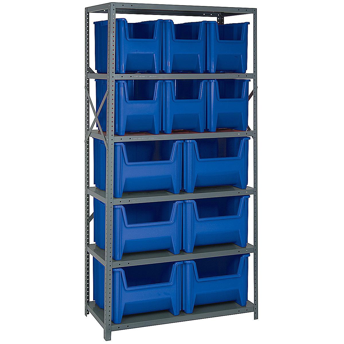 Storage Shelf   12 Bin ...