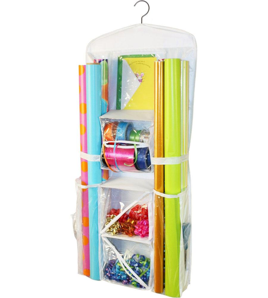 ... Gift Wrap Organizer ...