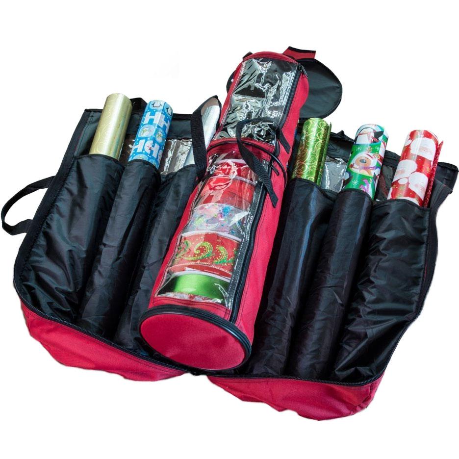 Beau Gift Wrap Storage Bag In Gift Wrap Organizers