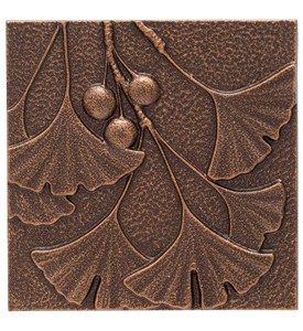 Gingko Leaf Wall Decor Image