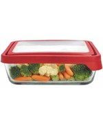 Glass Storage Container - Rectangular - 11 Cup