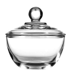 Glass Sugar Bowl Image