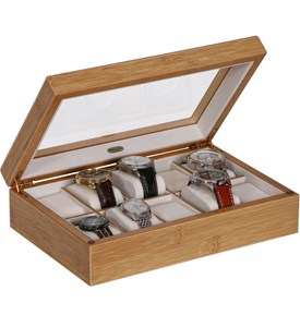 Wooden Watch Box Image