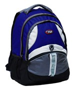 Gleeson 18 Inch Reflective Backpack - Navy