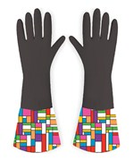 Rubber Gloves - Color Block