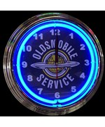 GM Oldsmobile Service Neon Clock by Neonetics