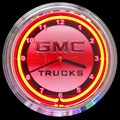 GMC Truck Neon Clock by Neonetics