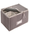 Microfiber Wine Goblet Chest