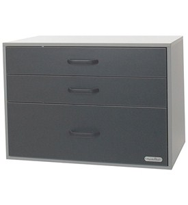 freedomRail Garage Three-Drawer GO-Box Image