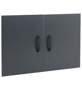 freedomRail Garage GO-Box Door Set - Granite Image