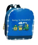 Going to Grandma's Light Up Train Backpack