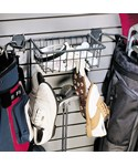 Golf Storage Rack and Basket