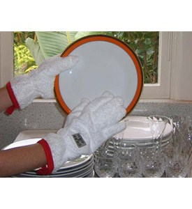 Grab and Dry Dish Gloves Image