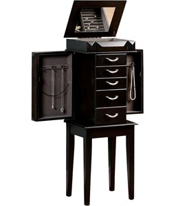 Jewelry Storage Armoire Image