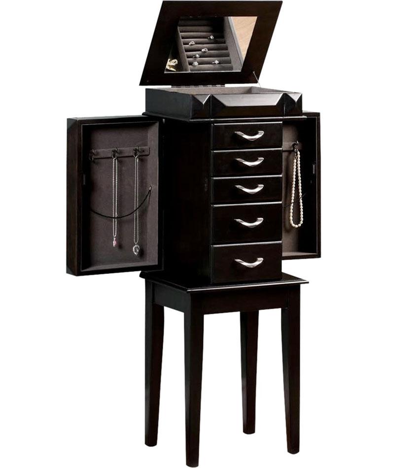 Jewelry Storage Armoire Image