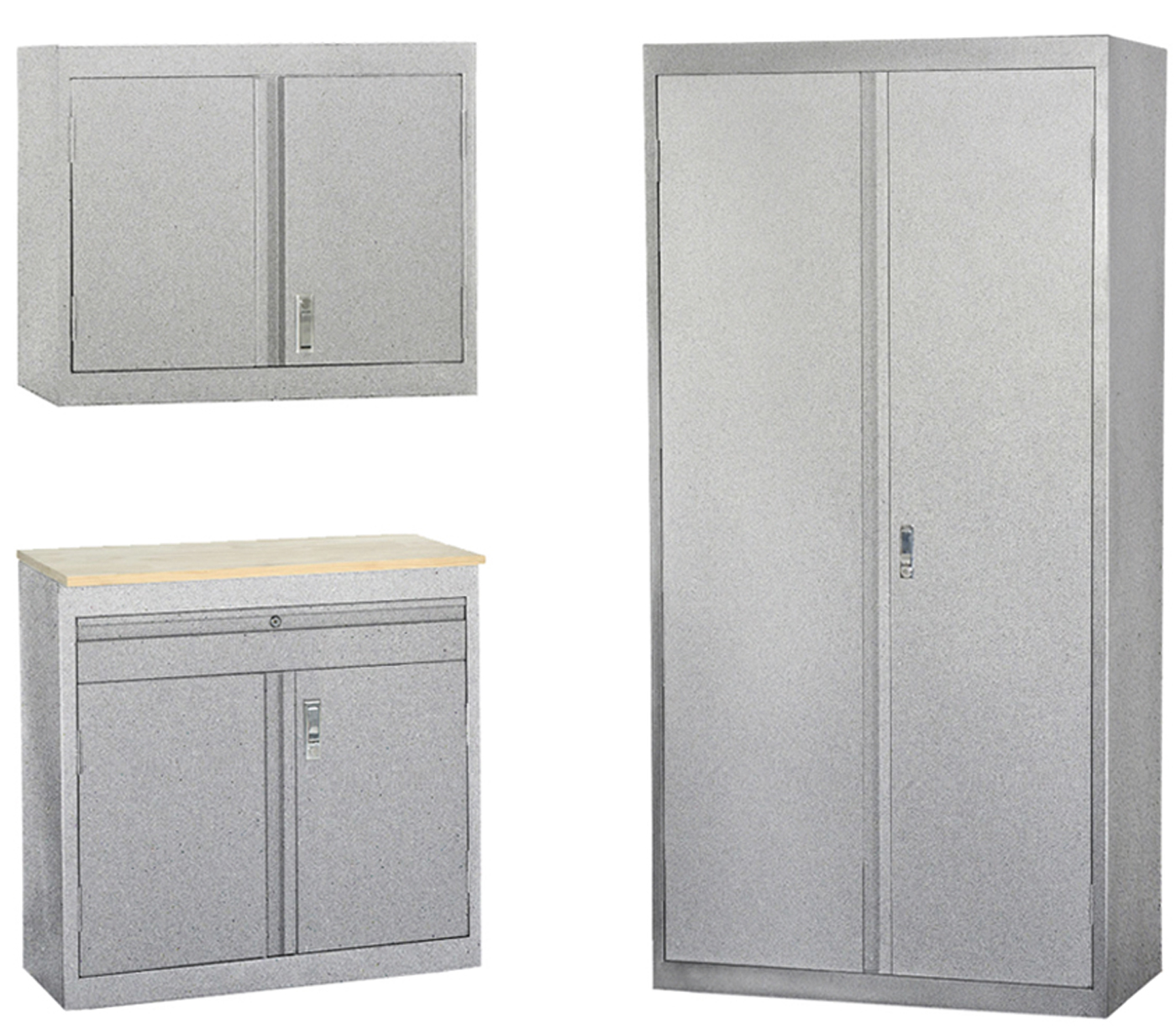 granite sandusky 3in1 garage storage system by edsal steel storage cabinet