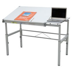 Graphix II Angled Top Workstation 30 x 42 by Studio Designs Image