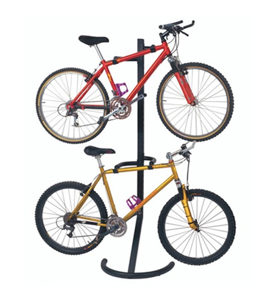 Gravity Double Standing Bike Rack In Bike Stands