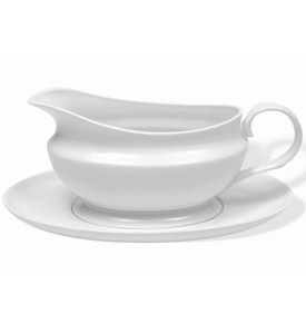 Gravy Boat and Saucer Image