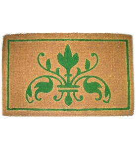 Green Insignia Mat by Imports Decor Image