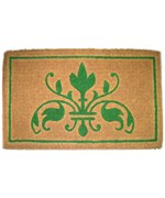 Green Insignia Mat by Imports Decor