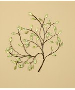 Green Leaves Wall Decor